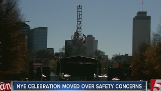NEY Celebration Moved To Bicentennial Mall - Video