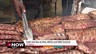 Red, White & BBQ festival this weekend - Video