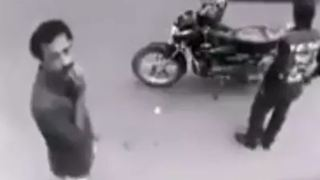 Thief Caught By CCTV Camera