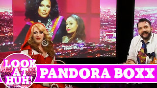 Pandora Boxx LOOK AT HUH! On Season 2 of Hey Qween with Jonny McGovern - Video