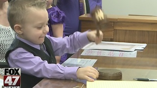 Adoption Day: Families need to add seat to Thanksgiving table - Video