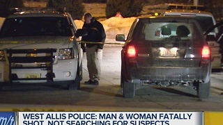 Man, woman killed in West Allis shooting - Video