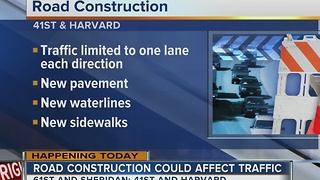 Two road construction projects start in Tulsa - Video