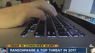 Cybersecurity experts predict more ransomware attacks in 2017 - Video