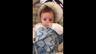 Baby Gets Emotional When He Hears His Favorite Song - Video