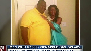Man who raised kidnapped girl speaks out - Video