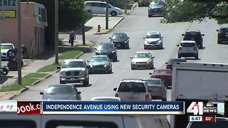 Security cameras help neighbors feel safe along Independence Ave. in KCMO - Video