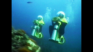 Awesome Underwater Motorbikes - Video
