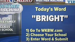 Andy Parker's Weather Machine Word 01-16-17 - Video