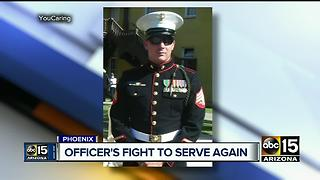 Fundraiser held in honor of Phoenix officer injured in crash - Video