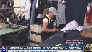 Minimum wage hike expected to take effect Jan. 1 - Video