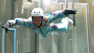 Wind Tunnel Flying  - Video