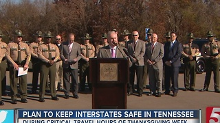 TN Joins I-40 Safety Challenge For Thanksgiving