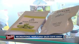 Recreational marijuana goes on sale July 1 in Nevada - Video