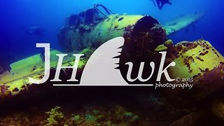 Diver Discovers Japanese WW2 Plane Underwater in Palau - Video
