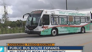 Much needed bus route coming to Moon Lake - Video