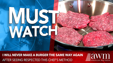 I Will Never Make A Burger The Same Way Again After Seeing Respected Chef's Method