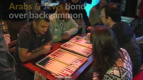 Arabs and Jews unite over love for backgammon