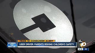 TEAM 10: Uber driver says parents risking children's safety - Video