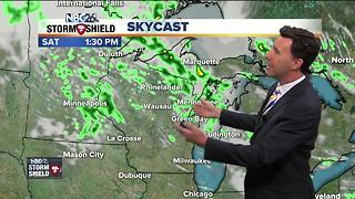 Michael Fish's NBC26 weekend weather forecast - Video