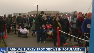 Annual 'Turkey Trot' grows in popularity - Video