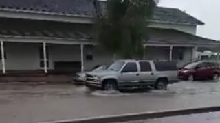 Torrential Rain Brings Flooding to Florence, Arizona