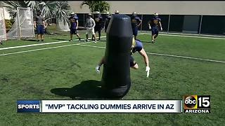 New concussion-reducing tackling technology comes to Arizona - Video