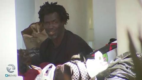 What This Jogger Did to a Homeless Man's Stuff Has a Whole City Talking