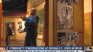 Reginal F. Lewis Museum celebrates MLK Day - Video