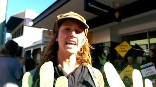 Commonwealth Bank Branches Close Across Newcastle Amid Protest - Video