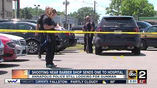 Police investigating shooting on busy Annapolis street - Video