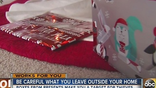 Halethorpe family has Christmas presents stolen 3 days before the holiday - Video