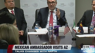 Mexican Ambassador to the US visits AZ - Video