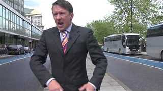 Spoof Reporter Goes on a Colorful Rant About the UK Election - Video