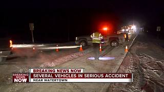 Authorities investigating serious accident in Dodge County - Video