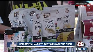 Monumental Marketplace takes over circle - Video