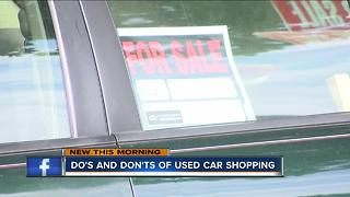 Car mechanics warn drivers purchasing used cars this summer - Video