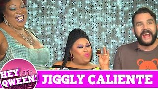 Jiggly Caliente On Hey Qween with Jonny McGovern! PROMO! - Video