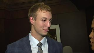 Talking Pistons draft pick Luke Kennard on the 7 Sports Cave - Video