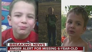 AMBER Alert issued for missing 6-year-old David Puckett in Aurora - Video