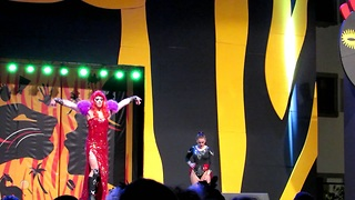 Drag Queen competition 11.part, African carnival - Video