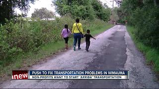 Wimauma workers facing transportation problems - Video