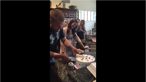 Baby gender reveal gone wrong!