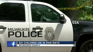 Six Milwaukee County children dead within 5 days