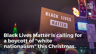 BLM Calls For Boycott of White Businesses This Christmas - Video