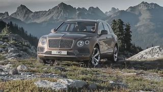 Bentley Bentayga: Over Hill and Dale in Luxury - Video