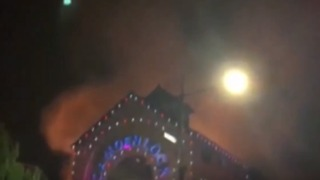 Smoke Billows From Camden Market Fire
