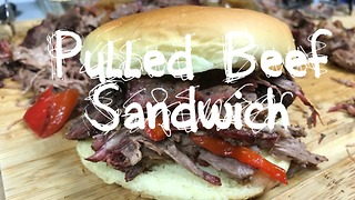Smoked pulled Beef Chuck Recipe on the Traeger Pellet Smoker - Video