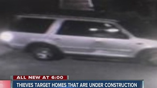 Appliances stolen from new Carmel subdivision, suspect on the loose - Video