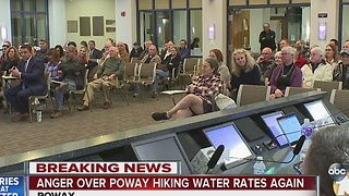 Anger over Poway water rate hike - Video